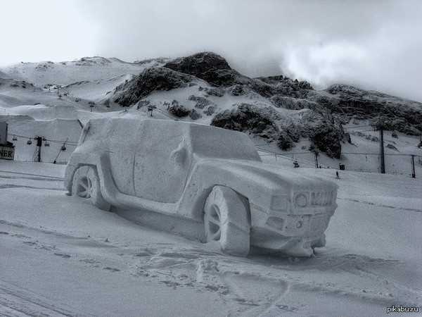 Зима - прекрасное время года зима, зимние забавы, прикол, юмор
