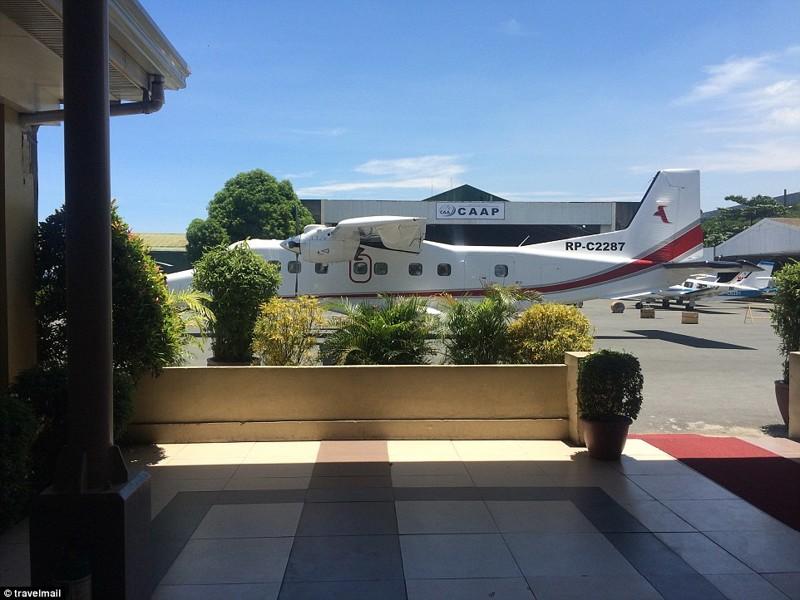 Самолет Amanpulo Resort рассчитан на 12 гостей Филтппины, курорт, остров
